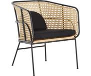 Ratanová židle spodručkami Merete