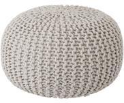 Ručně pletený puf Dori