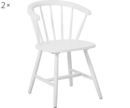 Židle spodručkami Megan, 2 ks