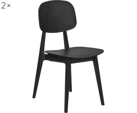 Židle zumělé hmoty Smilla, 2ks