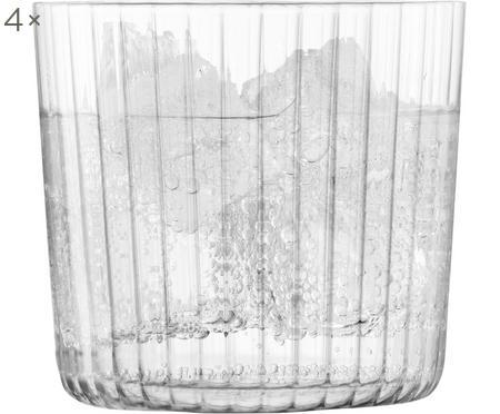 Ručně foukaná sklenice Gio, 4 ks