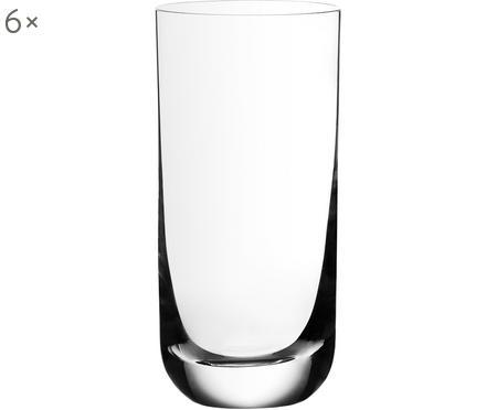 Křišťálová sklenice na long drink Harmony, 6 ks