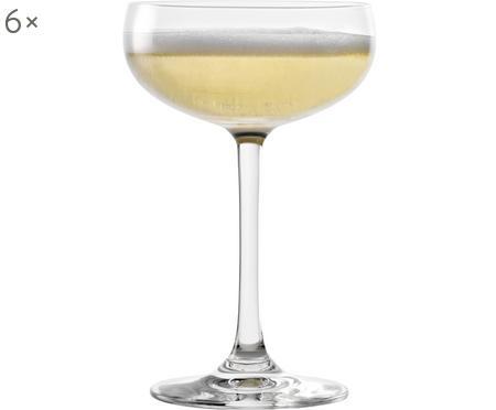 Křišťálová sklenice na šampaňské Elements, 6 ks