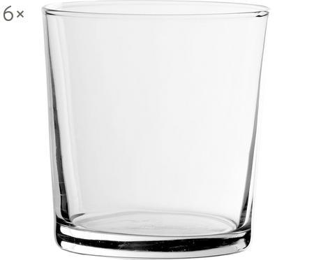 Klasická sklenice na vodu Simple, 6 ks