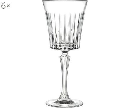 Křišťálová sklenice na bílé víno Timeless, 6 ks