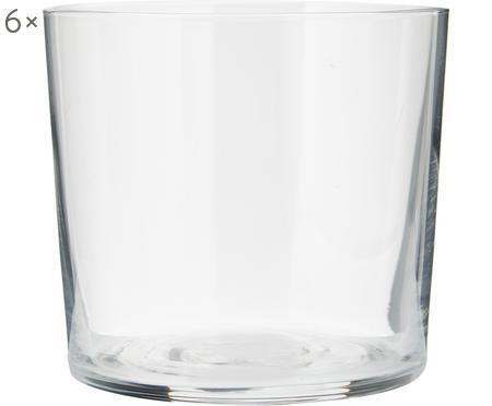 Sklenice z tenkého skla Gio, 6 ks