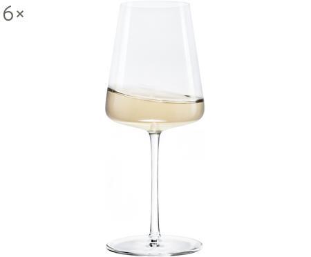 Křišťálová sklenice na bílé víno Power, 6 ks