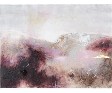 Ručně malovaný obrázek na plátně Turning Red