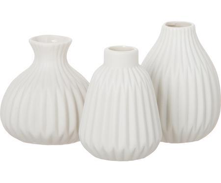 Sada malých porcelánových váz Esko, 3 díly