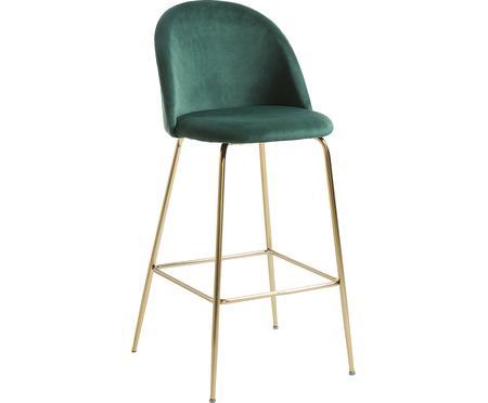 Sametová barová židle Ivonne