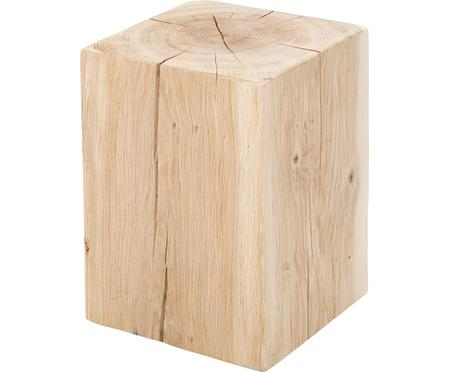Taburet z masivního dubu Block