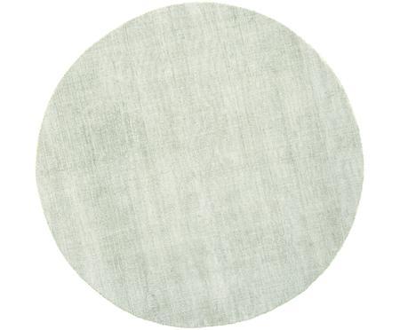 Ručně tkaný kulatý viskózový koberec Jane