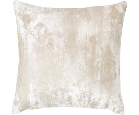 Sametový povlak na polštář střpytivým vintage vzorem Shiny