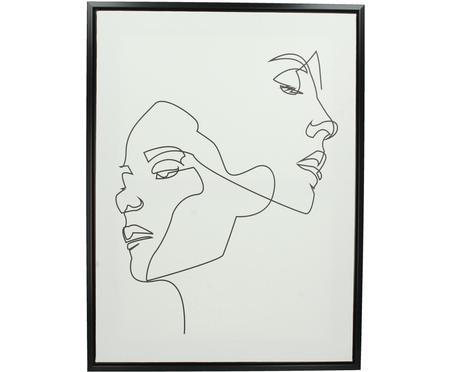 Zarámovaný tisk na plátně Opal