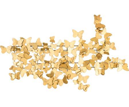 Kovová nástěnná dekorace Butterfly