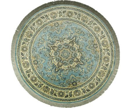 Kulatý koberec ve vintage stylu střásněmi Bodega