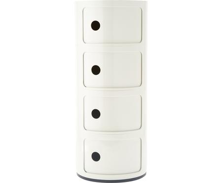 Designový odkládací stolek se 4 přihrádkami Componibili
