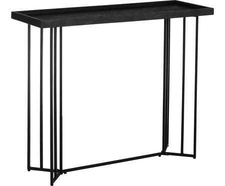 Konzolový stolek sdeskou zmasivu Luca
