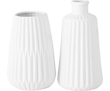 Sada porcelánových váz Esko, 2 díly
