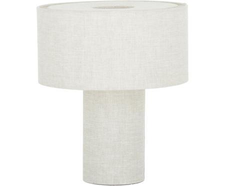Malá stolní lampa z látky Ron