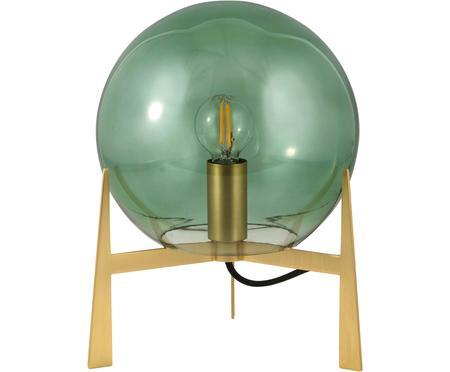 Malá stolní lampa z barevného skla Milla