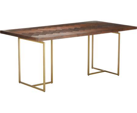 Jídelní stůl sdýhou zakátového dřeva Class