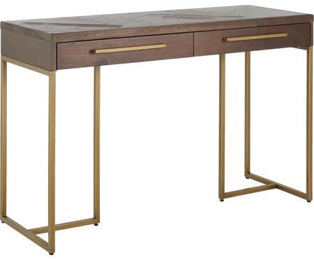 Konzolový stolek s dýhou z akátového dřeva Class