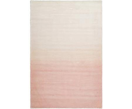 Ručně tkaný viskózový koberec s barevným přechodem Alana