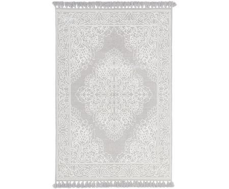 Ručně tkaný bavlněný koberec se střapci Salima