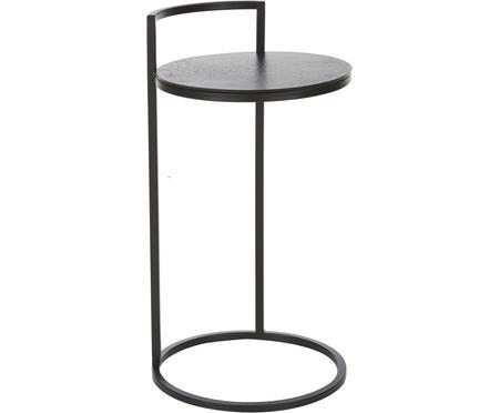 Kulatý odkládací stolek z kovu Circle