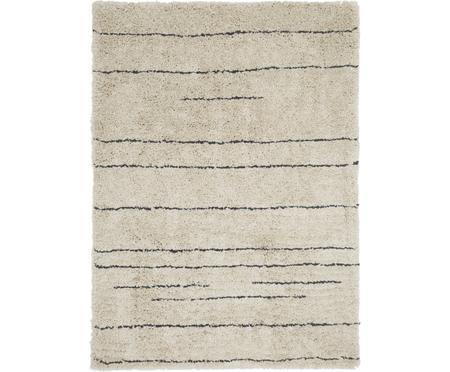 Ručně všívaný načechraný koberec s vysokým vlasem Dunya