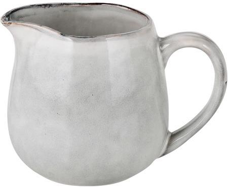 Ručně vyrobená mléčenka z kameniny Nordic Sand, 300 ml