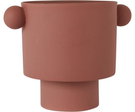 Velký ručně vyrobený obal na květináč z keramiky Ika