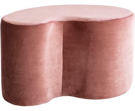 Lesklý sametový stolek Cloe