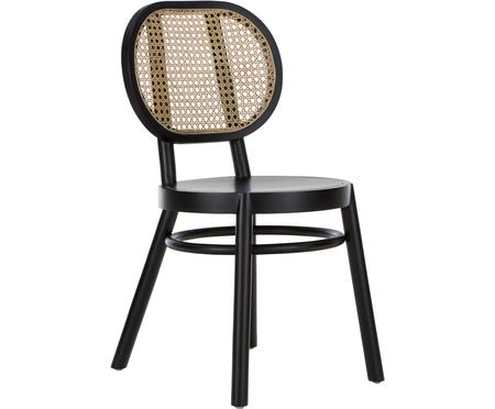 Dřevěná židle s vídeňskou pleteninou Retro