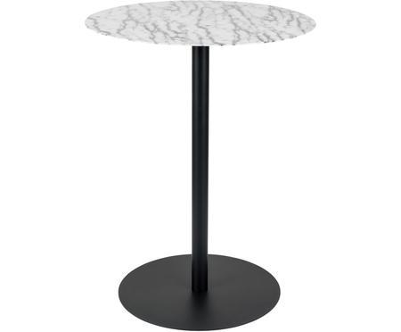 Kulatý kovový bistro stolek Snow