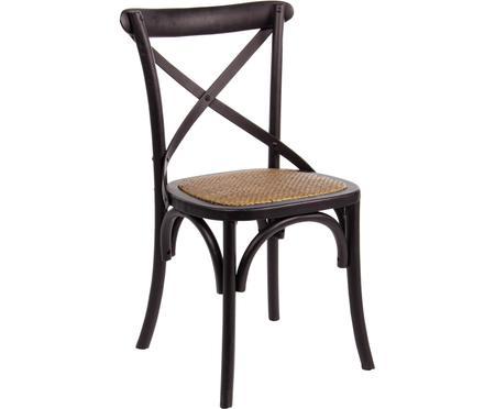 Dřevěná židle ve venkovském stylu Cross