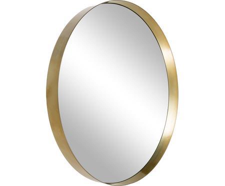 Kulaté nástěnné zrcadlo Metal