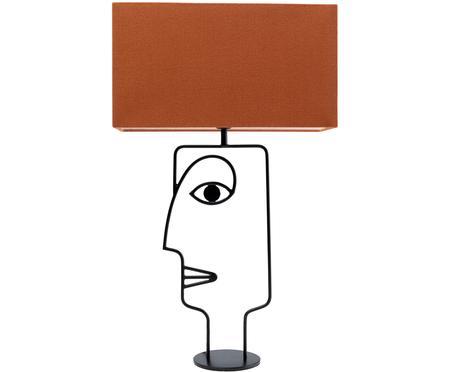 Velká stolní lampa Face Orange