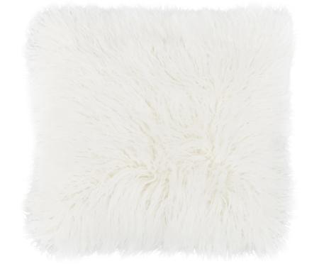 Měkký povlak na polštář zumělé kožešiny Morten, kudrnatý