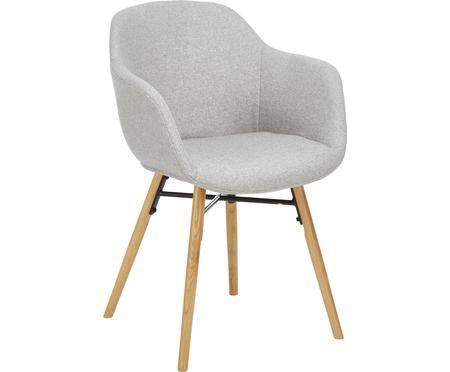 Židle s područkami sdřevěnými nohami Fiji