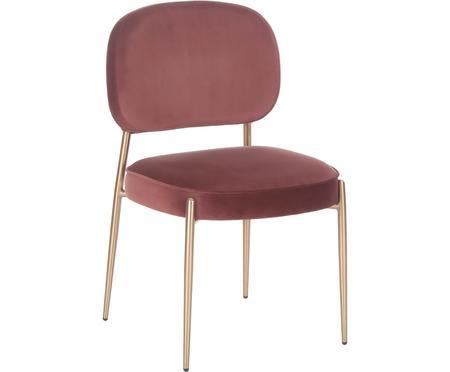 Sametová čalouněná židle Viggo