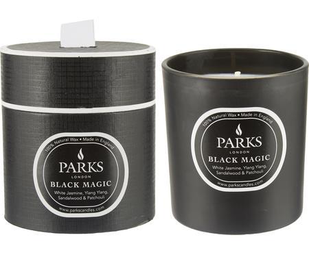 Vonná svíčka Black Magic (bílý jasmín, Ylang Ylang & santalové dřevo)