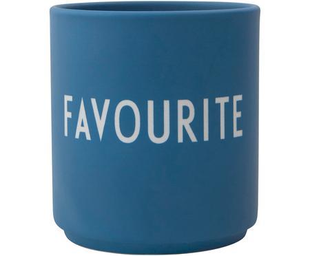 Designový pohárek s nápisem Favourite