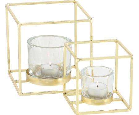 Sada svícnů na čajové svíčky Pazo, 2 díly