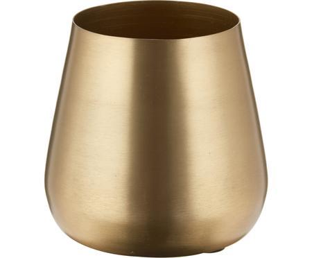 Malá dekorační váza z kovu Simply