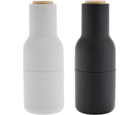 Sada designových mlýnků na sůl a pepř Bottle Grinder, 2díly