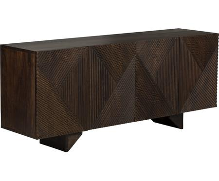 Skříňka z masivního mangového dřeva Louis