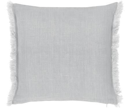 Lněný povlak na polštář s třásněmi Luana