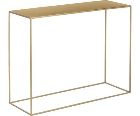 Kovový konzolový stolek Tensio